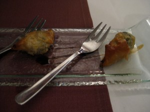 auberge de neuland snails wrapped in paper thin pastry