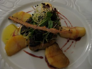 auberge de neuland sauteed duck foie gras with apples