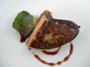 all foie gras
