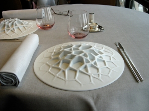 jules verne place setting