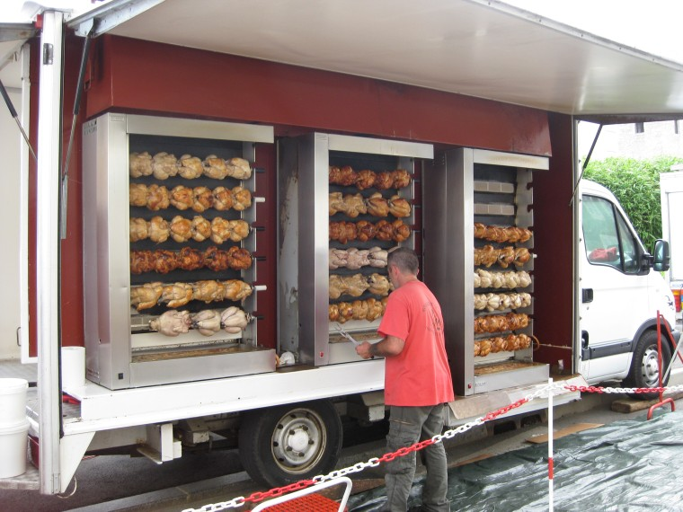 roasted chicken food truck ile ilgili görsel sonucu